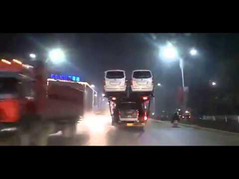 Китайский автотрейлер