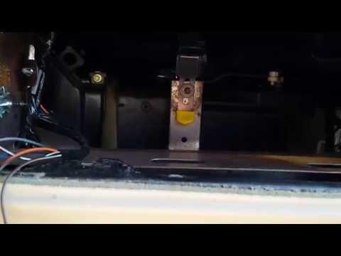 Deville heater core removal