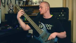 NE OBLIVISCARIS Brendan Brown - Devour Me Colossus (Bass playthrough)