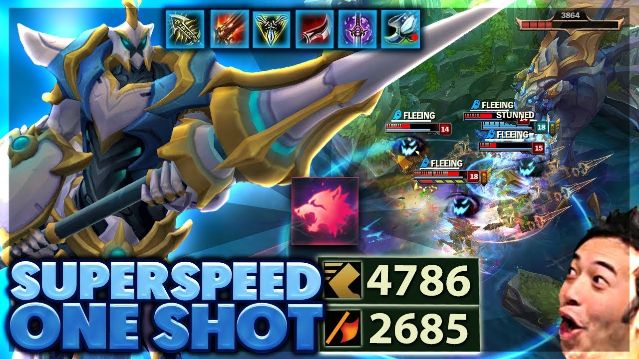 MOST AD EVER | 500$ SKIN | SUPERSPEED CRIT HECARIM - BunnyFuFuu
