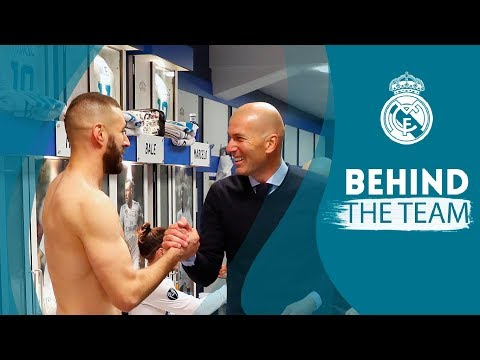 EXCLUSIVE | Inside the dressing room and pitch celebrations: Real Madrid 2 - 2 Bayern Munich thumbnail