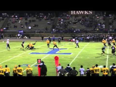 Rocky Mount High School Gryphons Football -  Game Highlights vs. Erwin-Triton - 9/26/14