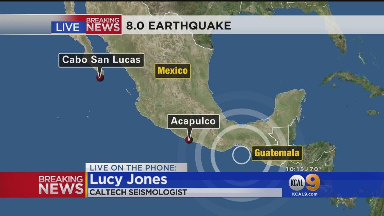 Earthquake With Magnitude Of 8.0 Rattles Southern Mexico