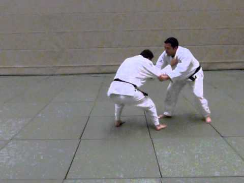 Ko-soto-gake as offensive technique / Kosoto Gake in slow motion - Judo TSV Bassen Image 1