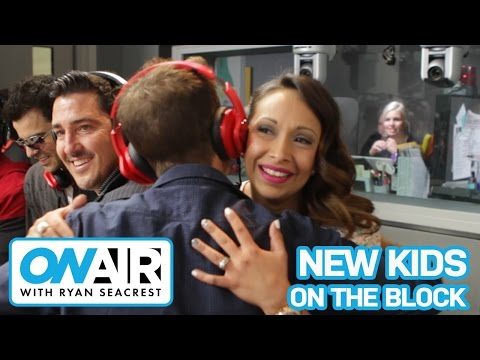 New Kids On The Block Surprise Super Fan | On Air with Ryan Seacrest