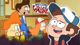 Welcome to the Wayne - Really a Gravity Falls Ripoff?