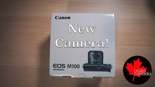 My New Camera! Canon EOS M100 Unboxing Plus New Lenses!