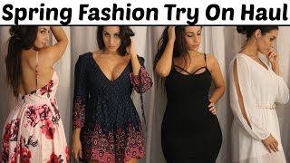 HUGE Spring Fashion Try On Haul | Romwe 2016