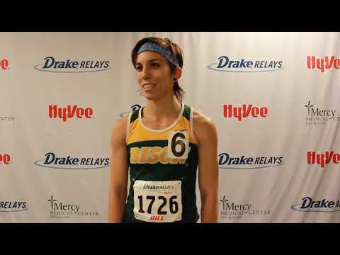 Maddie Van Beek (North Dakota State) | Post Drake Relays Victory 2015