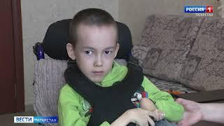 Данила Васильев, 7 лет, спинальная мышечная атрофия