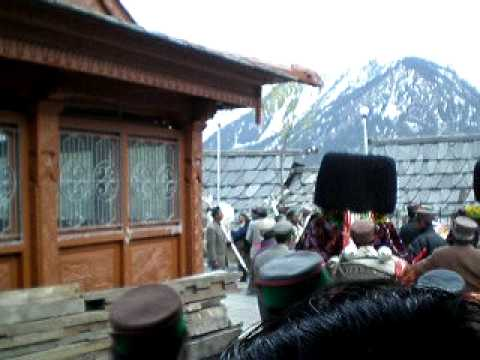Baisakhi or Beesh festival at Kinnaur, Himachal Pradesh