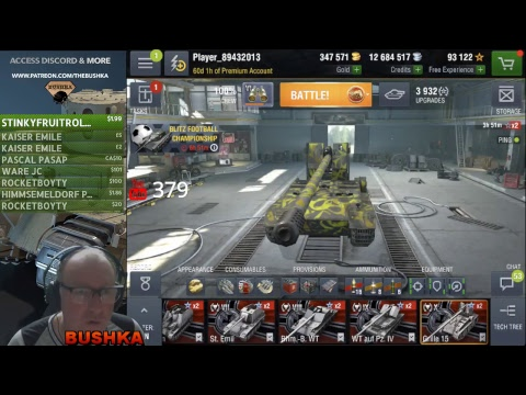 THE GRILLE XV TECH TREE STREAM WORLD OF TANKS BLITZ