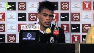 «Tive muitas propostas mas quis jogar neste grande clube de Portugal»