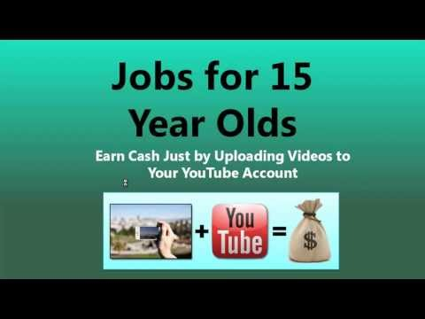Jobs for 15 Year Olds — Part Time Summer Jobs for Teenagers