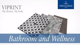 ViPrint shower trays – Inspired by Heritage | Villeroy & Boch