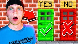 HAVE YOU EVER CHEATED IN MINECRAFT?