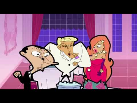 Mr  Bean Animated Series Bean At The Resturant Part1