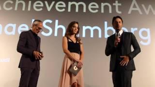ZFF Zurich Film Festival - Zach Braff and Michael Shamberg. Raw Footage 09/26/2014
