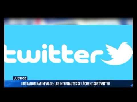 La libération de Karim Wade vue sur Twitter