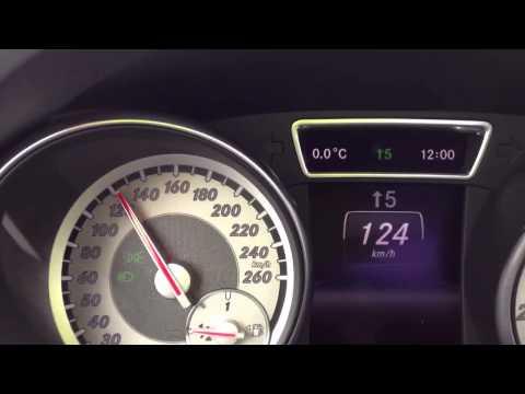 Mercedes Benz CLA 180 0-100 km/h Beschleunigung / 90KW - 122 PS Test