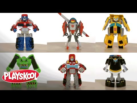 PLAYSKOOL Heroes Transformers Rescue Bots Video Music Videos