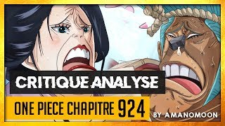 LA FIN DE WA NO KUNI ? - Critique analyse chapitre one piece 924