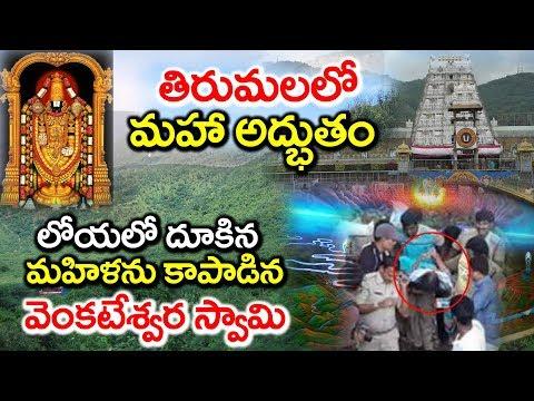 లోయలో దూకిన మహిళను కాపాడిన వెంకటేశ్వర స్వామి | Miracle in Tirumala Tirupati #9RosesMedia
