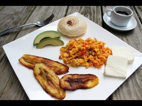Desayuno Venezolano. Como Preparar Perico