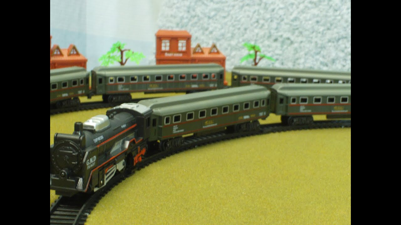 King of the road vintage trainset