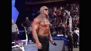 Scott Steiner challenges Triple H to a bench press contest: Raw, January 13, 2003