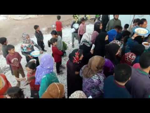 DAY 2 DAILY IFTAR MEALS IN SYRIA -  RAMADAN 2016