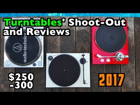 Turntables $250 -$300: Shoot-out & Reviews.   AT-LP120 + Pro-Ject Primary + TEAC TN-300