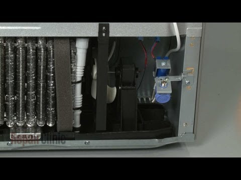 Lg refrig fuse repair part1 how to save money and do it for Hotpoint refrigerator condenser fan motor