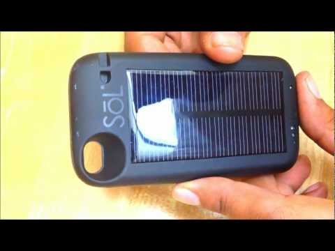 SOL iPhone Solar Charger Does NOT Work Hybrid Case