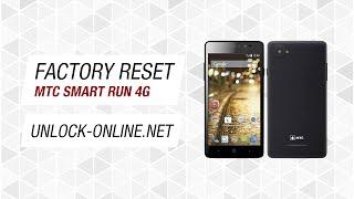 МТС Smart Run 4G - сброс до заводских настроек (обход графического ключа)