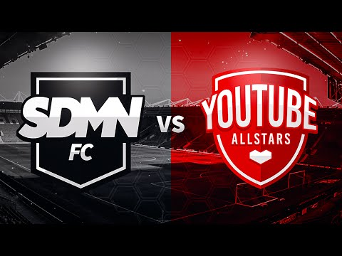 SIDEMEN FC VS YOUTUBE ALLSTARS CHARITY FOOTBALL MATCH LIVESTREAM