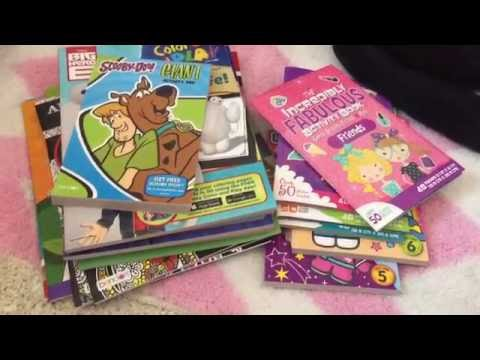 dollar tree haul sticker books adult coloring books more - Dollar Tree Coloring Books