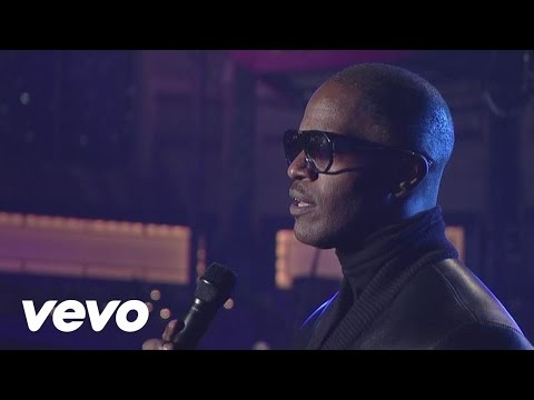 Jamie Foxx - Fall For Your Type (Live @ Letterman)