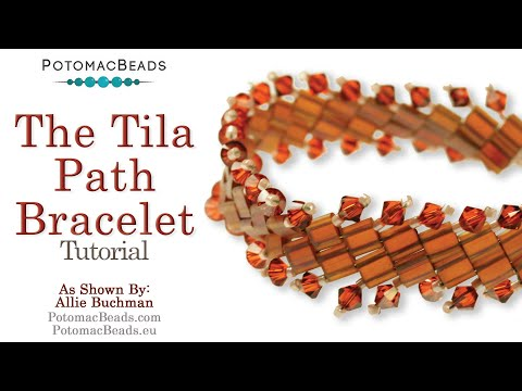Beadweaving 263 - The Tila Path