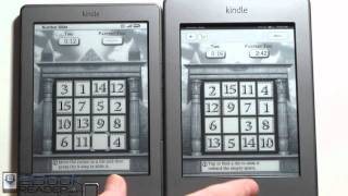 Kindle Touch vs Kindle 4 Comparison Review