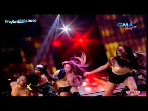 Party Pilipinas [Cloud 9] - Bella Padilla (Magdalena)  & Girls of Sexy Hataw  = 10/7/12