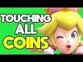 Is it Possible to Beat New Super Mario Bros U Deluxe While Touching Every Coin?