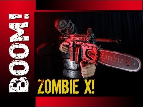 THE ZOMBIE X ZOMBIE SLAYER AR-15! The most badass rifle EVER!