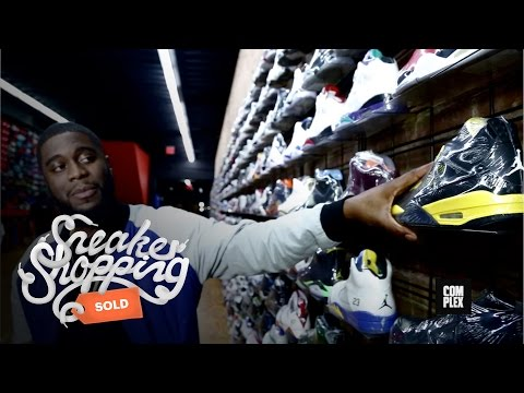 Big K.R.I.T. Goes Sneaker Shopping With Complex