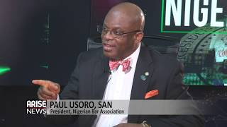 President NBA, Paul Usoro gives details concerning powers and jurisdiction of the CCT