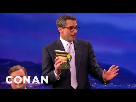 Steve Carell Gets In Touch With His Inner Badass - CONAN on TBS