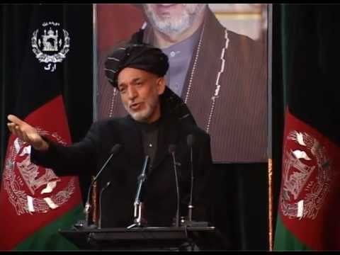 TV Report -- President Karzai's visit to Helmand Province, March 12, 2013