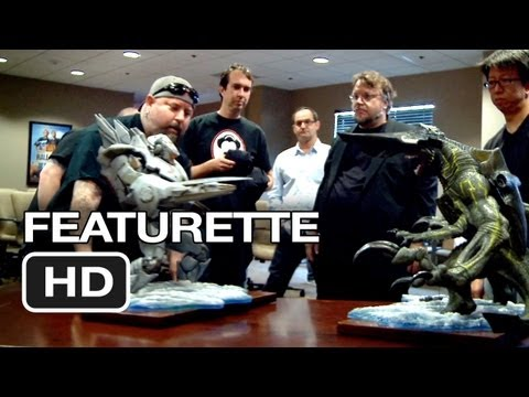 Pacific Rim Featurette - Robot Concepts (2013) -  Guillermo Del Toro Movie HD