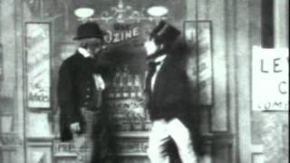 Early vaudeville comedy routine -
