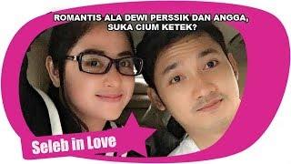 Romantis Ala Dewi Perssik Dan Angga Suka Cium Ketek